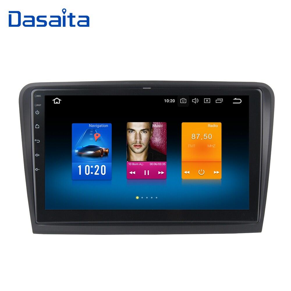 10 2 1 Din Car Raido GPS Android 9 0 for Skoda Superb Multimedia 2008 2009