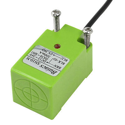 SN10-N NPN NO 10mm Inductive Proximity Sensor Switch 3 Wire DC 12-24V 2M Cable p proximity switch nj5 18gm n