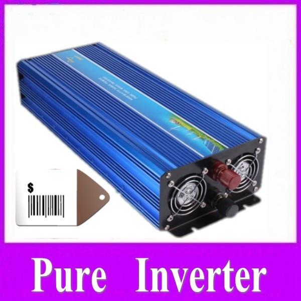 цена на 2500w convertitore di fornitura di energia solare true sine Inverter 12v 24v dc to ac inverter 2500w pure inverter