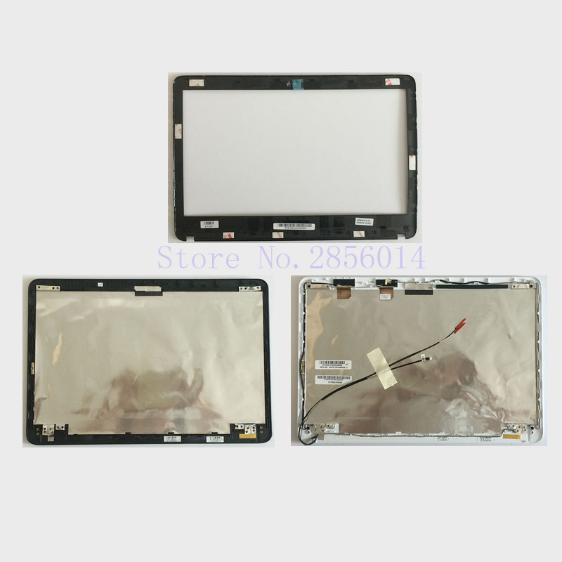 цена на NEW Case FOR Sony VAIO SVF141 SVF142 SVF143 SVF1421 SVF14E Base TOP LCD Back cover/LCD front bezel Non touch