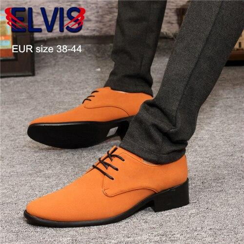 1f36b2cb8 Estilo De Nueva Oxford Hombre Marca Para Vestir Zapatos Elvis IqqUWzw8