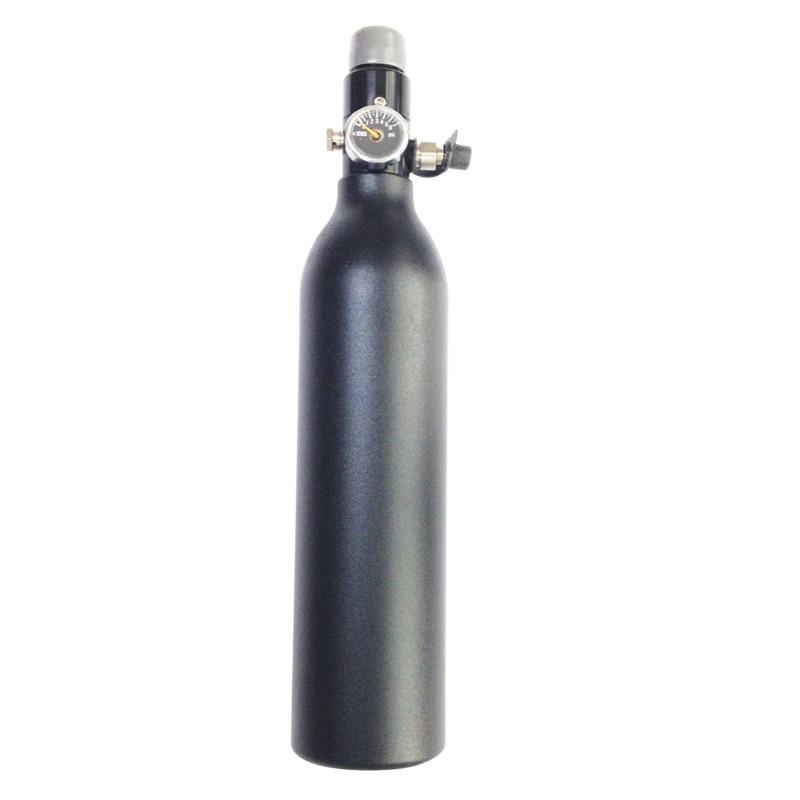 FREE SHIP HPA Tank 4500PSI Bottle Aluminium Cylinder For Shooting Fire Fighting Aquarium 0.2/0.26/0.35/0.45L 5/8-18UNF TKU263545