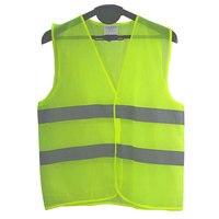 100 pc Colete Reflector Roupas De Trabalho Oferece Alta Visibilidade Dia e Noite Para Running Ciclismo Chaleco Reflectante De Alerta De Segurança