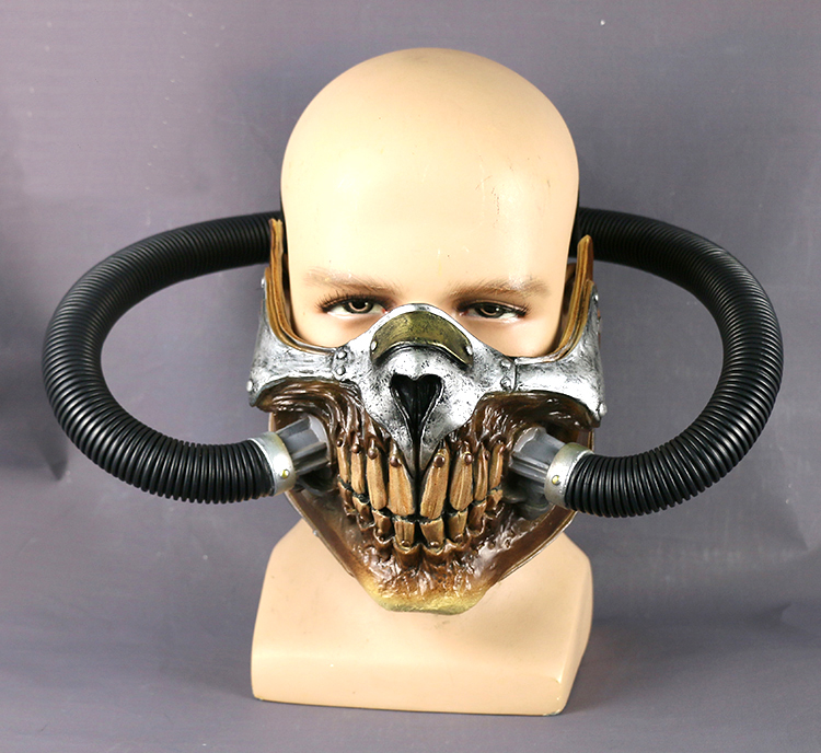 Frank Movie Mad Max 4 Fury Road Immortan Joe Cosplay Masks Props Pvc Adult Unisex Face Gas Party Halloween Can Be Repeatedly Remolded.