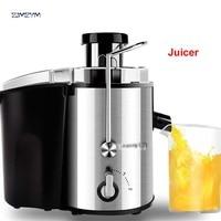 1PC JYZ D55 Electric Household Juicer Fruit Citrus Generation Juicer Make 250W Power Food Mixer Blender Juice Sugarcane Machine