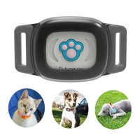 Smart Waterproof IP67 MiNi Pet GPS AGPS LBS Tracking Tracker Collar For Dog Cat SMS Positioning Geo Fence remote Track Device