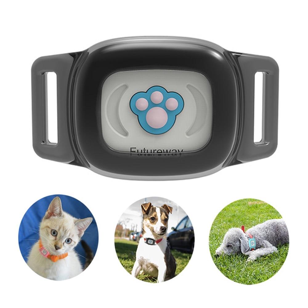 Smart Étanche IP67 MiNi Pet GPS AGPS Suivi LBS Tracker Collier Pour Chien Chat SMS Positionnement Geo-barrière à distance dispositif de piste