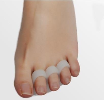 Gel de silicona dedos del pie separador pulgar valgus protector Bunion ajustador Hallux Valgus guardia