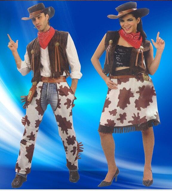 Halloween Masquerade / anual adereços / crianças desempenho roupas de cowboy chapéu de cowboy