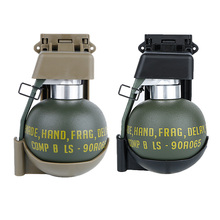 Airsoft M67 Kukla Grenade Modeli Bel Klip Plastik Molle Sistemi M 67 Yeşil Çantası Depolama için Açık Cosplay Taktik Paintball