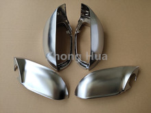 4pcs/set Side Wing Rearview Cover For AUDI A7 S7 RS7 ABS Chrome Rear View Mirror Replacement Trim Case Shell