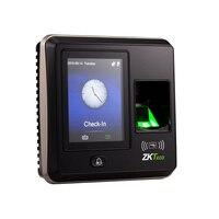 IP ベースの指紋端子 ZKTeco SF300 まで 15 マルチ検証方法にセキュリティを強化レベルウィーガンド出力