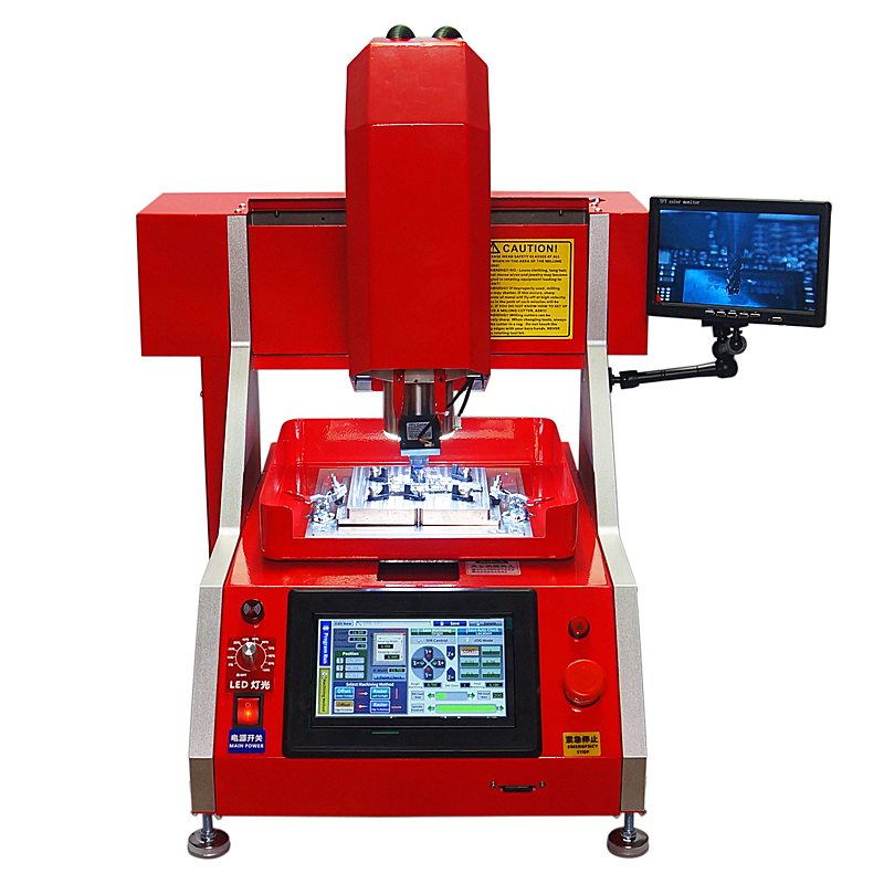 automatic mobile chip repair CNC Milling Polishing Engraving Machine LY 1002 for iPhone Main Board  with mold
