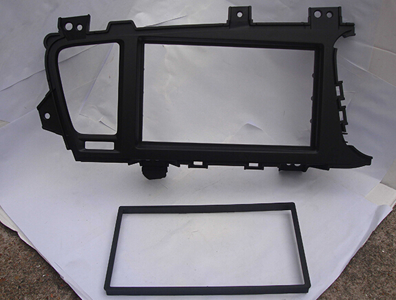 AHHDMCL Car Fascias Stereo Radio Panel Audio Navi Frame Dash Kit For <font><b>Kia</b></font> K5 Optima III TF Right Hand Drive 2010 2011 2012 2013 image
