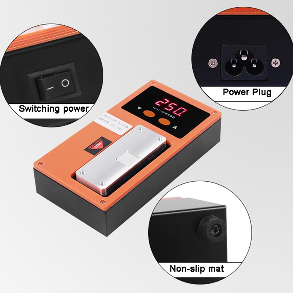 Купить с кэшбэком K-301/2 2in1 Multifunctional Mobile Phone Frame Separator Frame Separator Heating Plate Machine CPU Glue Remove Machine