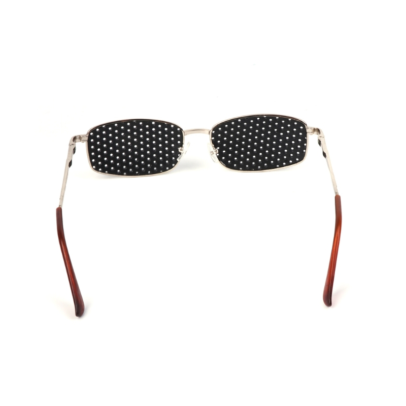 US $2 07 27% OFF|Metal Pinhole Glasses Exercise Eyewear Eyesight  Improvement Vision Training-in Men's Sunglasses from Apparel Accessories on