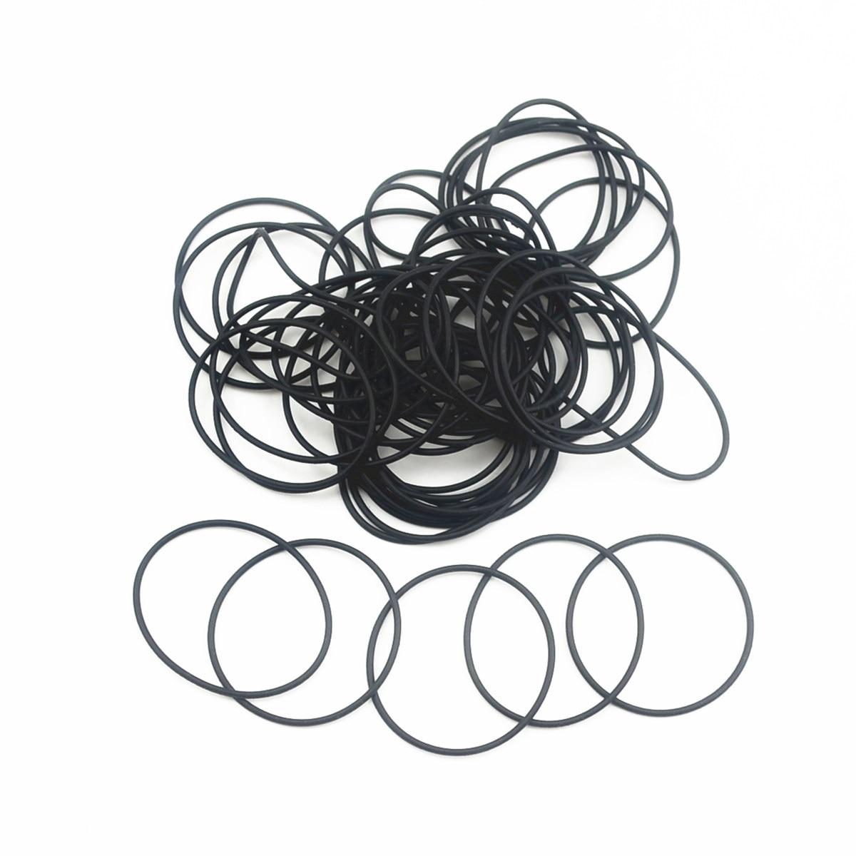 20pcs Noir Nitrile Butadiene Rubber Caoutchouc Nitrile O-Ring 4.5 mm Inner Dia 1 mm Largeur