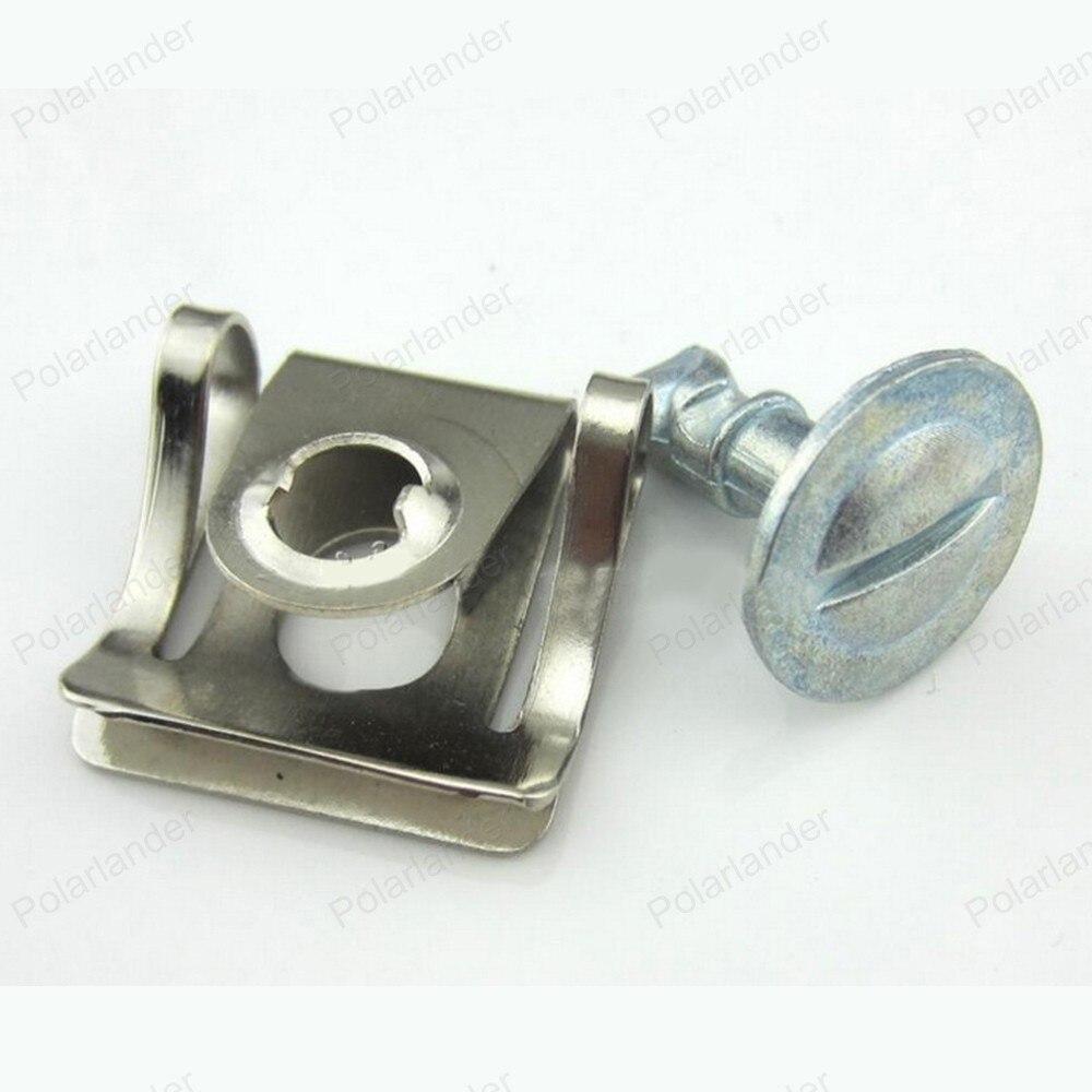 Under Engine Cover Screw Undertray Metal Clips For Audi A4 A6 VW Passat B5 Skoda Superb 8D0805121 Car Styling 10PCS/Set