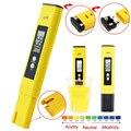 Protable LCD Caneta Digital PH Medidor de Urina de calibração automática do Vinho Tester precisão 0.01 Aquário Piscina de Água à prova d' água