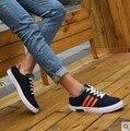 Zapatos de lona De Algodón Tejido Plano Con Zapatos Casuales de Verano Colores Mezclados Zapatos Casuales Para Hombre Zapatos Para Hombre