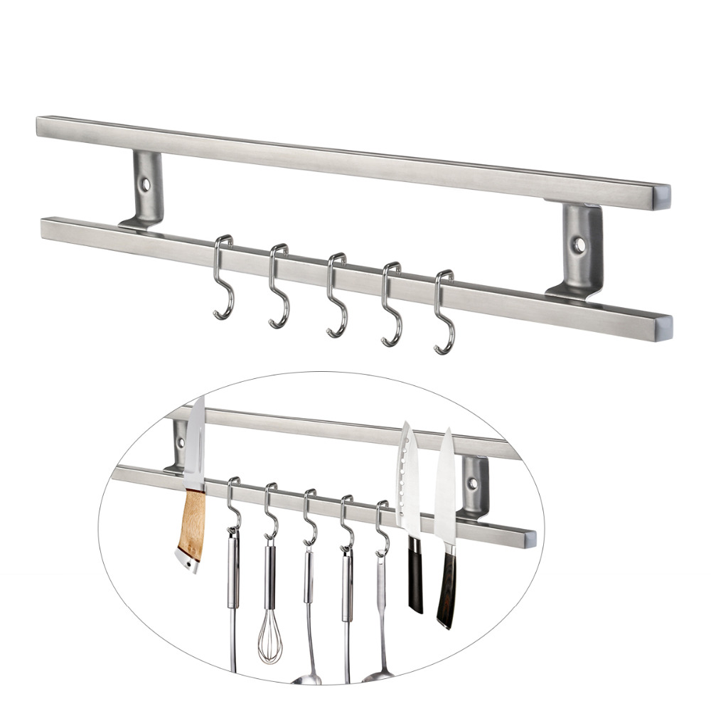 Wall Mounted 304 Stainless Steel Magnetic Knife Holder