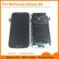 Livre ferramentas de peças de reposição para samsung s4 lcd para galaxy i9500 i9505 exibição da tela com digitador da tela de toque