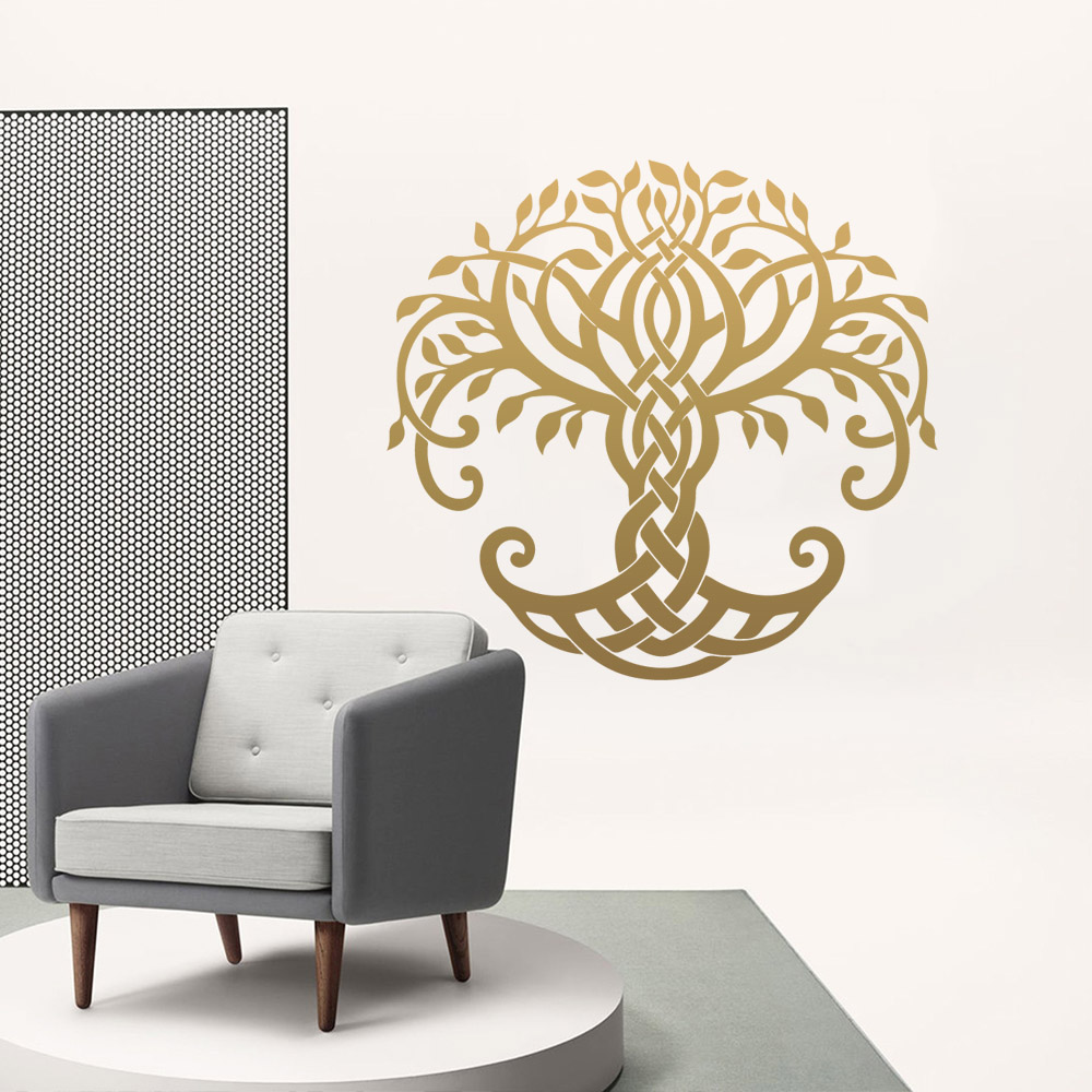 American-Style Tree Wall Sticker Pvc Stickers Art Paper For Kids Rooms Diy Home Decoration Decal Mural