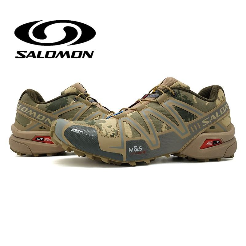 Salomon Speed Cross 3 CS III Hommes Sneakers Durable Camo Chaussures de Course Respirant Appartements Chaussures Formateurs Chaussures 40-46