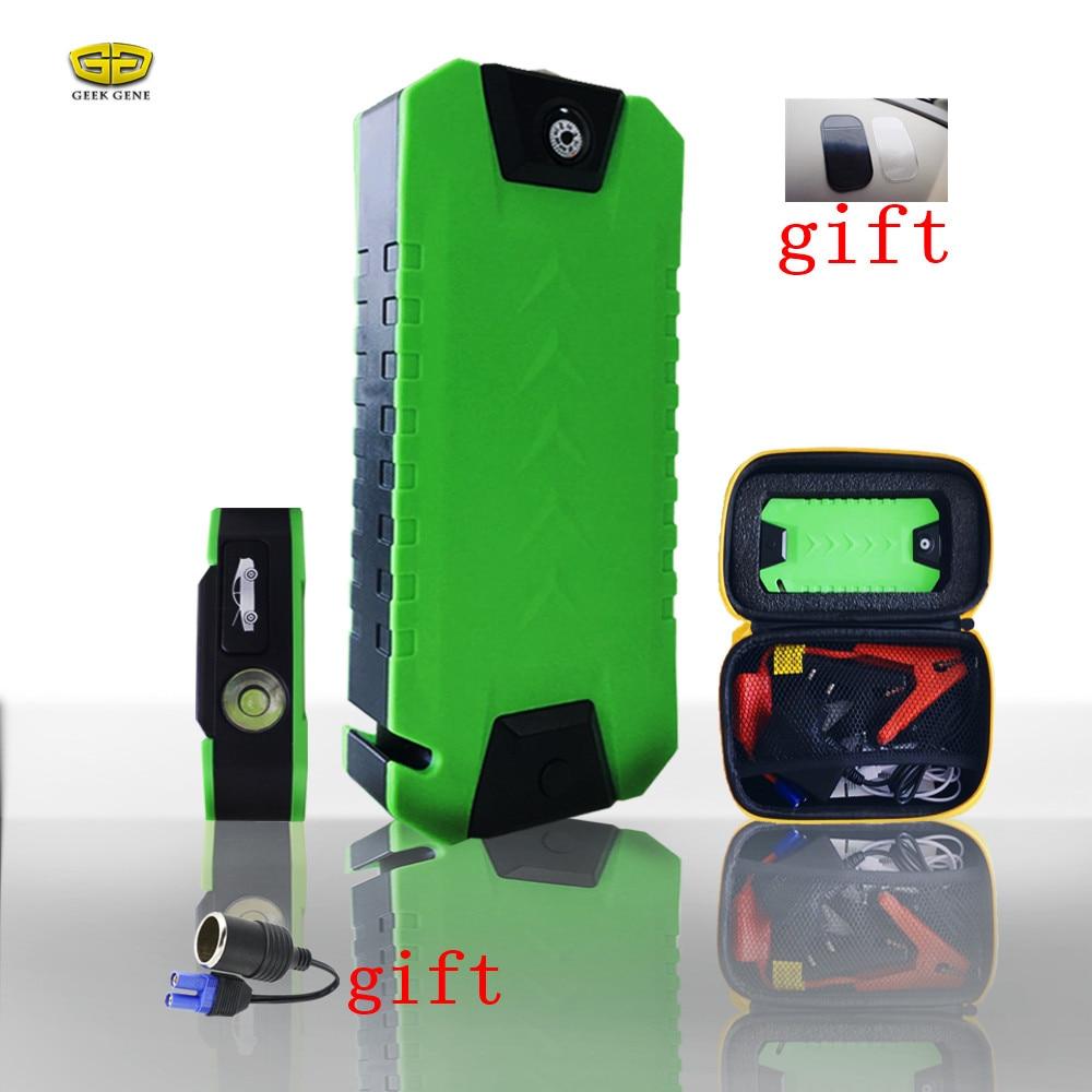 Best Car Jump Starter 13800mAh High <font><b>Power</b></font> Bank <font><b>Portable</b></font> Car Charger Multi-function Start Jumper Emergency Auto Battery Booster
