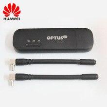 Новый разблокирована HUAWEI 150 Мбит/с E8372 E8372h-607 4 г LTE Wi-Fi модем ключ с TS9 4 г антенны