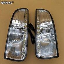 Свет для Skoda Superb MK2 2008 2009 2010 2011 2012 2013 автомобиль-Стайлинг СИД DRL дневные Бег свет С Провода жгута комплект