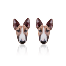 Vintage Cute dog Stud earring