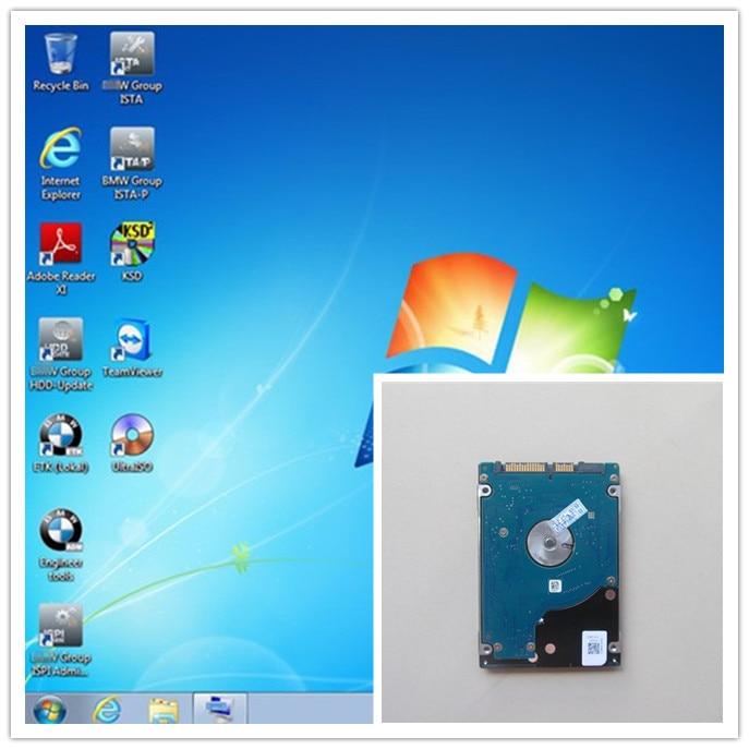 2018.09 pour bmw icom a2 hdd 500 gb avec nouveau logiciel mode expert (ista-d 4.13 ista- p: 3.65) Multi langues windows7 pour ordinateur portable