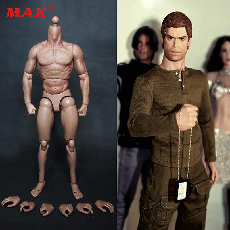 1/6 scale male man body figure military chest muscular body similar to TTM19 for wolverine 12