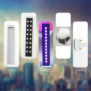 Image 5 - Lâmpada para unhas uv led 16 leds 9w lâmpadas da lâmpada do prego para a cura substituída secador da arte do prego lâmpadas tubo de substituição