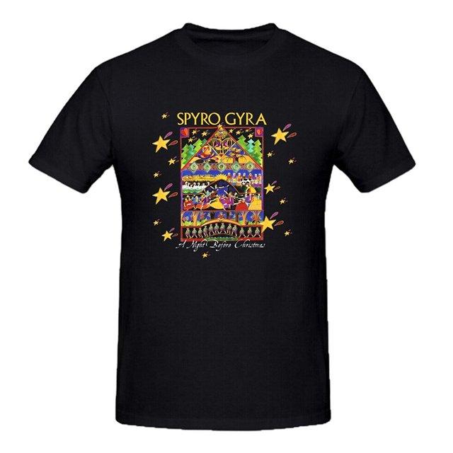 Fashion t-shirt Spyro Gyra A Night Before  man t-shirt
