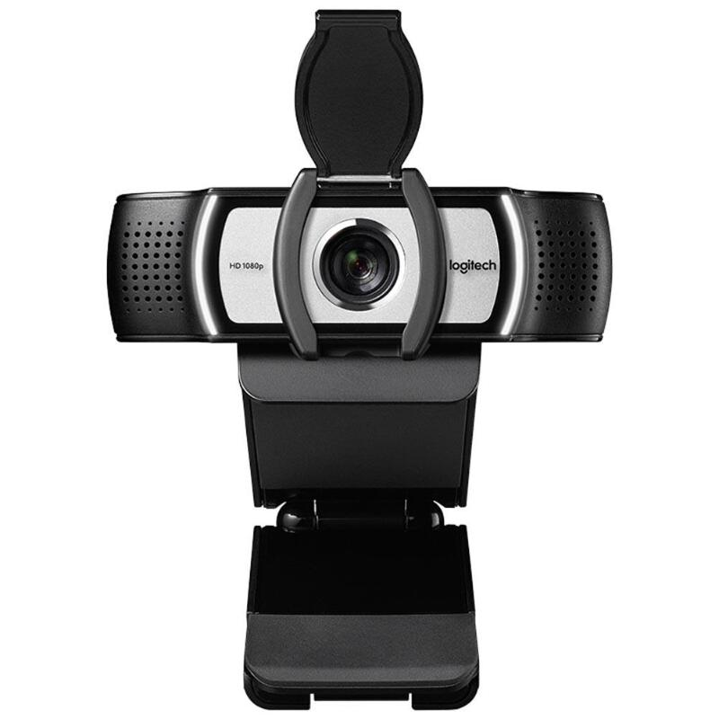 Image 4 - Logitech C930c 1080P Webcam With Cover Multi platform Digital Zoom Web cam-in Webcams from Computer & Office
