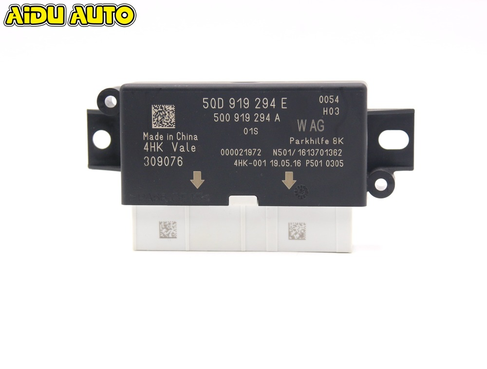 FOR VW Golf 7 MK7 VII A3 8V MQB PDC PRAKING OPS MODULE 8K 5QD 919 294 E UPGRADE 5QD919294E 5Q0 919 294 A park pilot parking front and rear 8 sensors update 8k pdc ops for skoda mqb octavia
