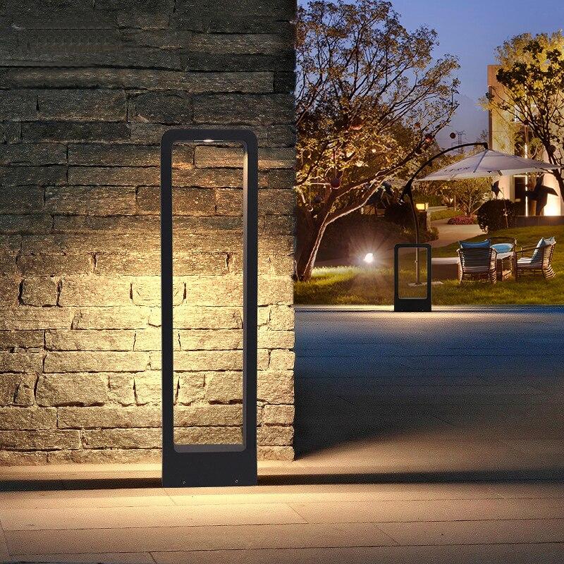 10W LED Lawn Light Outdoor Waterproof Aluminum Lawn Light Landscape Community Garden Courtyard Villa Grassland Road Lights