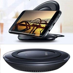 Image 5 - Qi Wireless Fast Charger มาตรฐานพับได้ Pad ชาร์จสำหรับ Samsung Galaxy S7 Edge S8 S9 S10 S10e หมายเหตุ 8 9 iphone 8 plus X XS XR