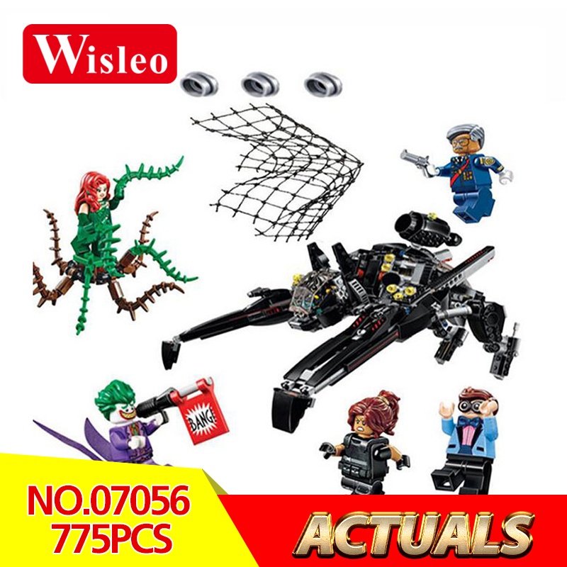 Wisleo 07056 Genuine Movie Series Scuttler Bat Spaceship model Building kits Blocks Bricks Education Toys gifts LegoINGlys 70908