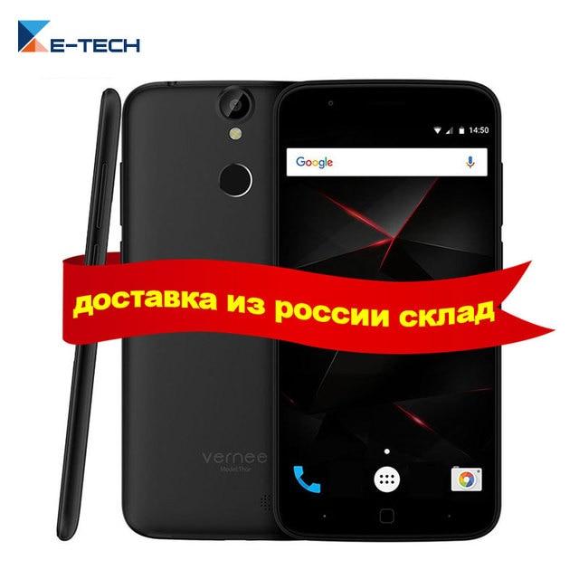 Original Vernee Thor MT6753 Octa Core Phone 5.0 Inch HD Screen Android 6 Mobile Phone 3G RAM 16G ROM 2800mAh 4G LTE Smartphone