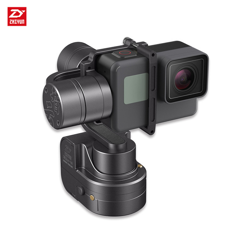 EU Stock Zhiyun Rider-M 3 axis Handheld Gimbal wearable stabilizer for GoPro 3/4/5/6 Action Camera yuneec q500 typhoon quadcopter handheld cgo steadygrip gimbal black