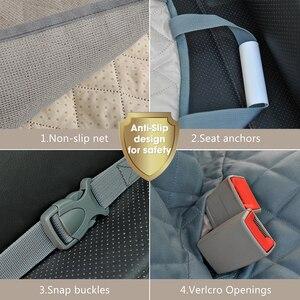 Image 4 - Prodigen Dog Car Seat Cover Waterproof Pet Transport Dog Carrier Car Backseat Protector Mat Car Hammock For Small Large Dogs