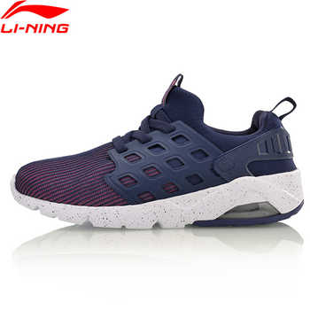 Li-Ning Women\'s Bubble Ace Streetwear Lifestyle Shoes Mono Yarn Cushion Breathable LiNing Sneakers Sport Shoes AGLM022 YXB066 - DISCOUNT ITEM  35% OFF Sports & Entertainment