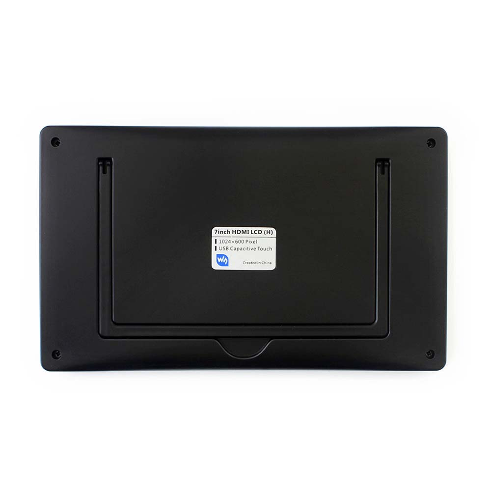 Купить с кэшбэком Waveshare 7inch HDMI LCD (H)+Case,1024x600,IPS,Capacitive Touch LCD,support WIN10 IOT,Win 10/8.1/8/7,Raspberry Pi,Banana Pi etc