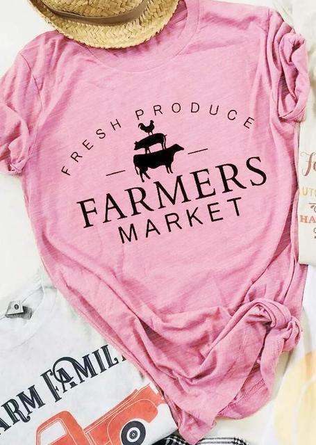 Fresh Produce Farmers Market T-Shirt