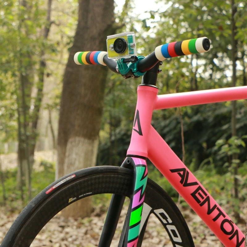 YI Bike Mount For YI Action Camera Green Handlebar For Sports Camera YI Official-4