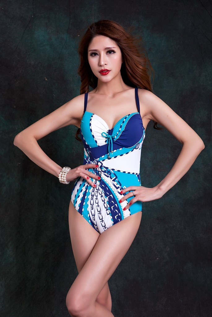New Swimwear Triangular Bikini Steel Push Up Hot Springs Conservative Swimsuit Show Slim Plus Size Wholesale and retail спа soup hot springs