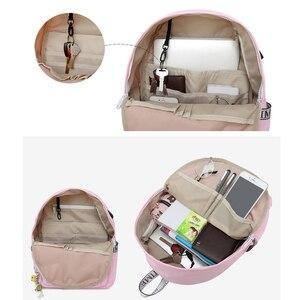 Image 5 - WINNER 2018 New Korean Version USB Backpack Women Anti Theft School  Travel Backpack Small Fresh Laptop School Bags Men Zaino